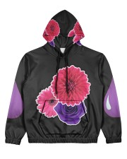 Floral PurpSauce Women's All Over Print Hoodie thumbnail