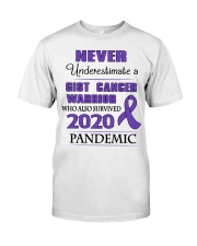 gist-cancer-purple-npan Classic T-Shirt front