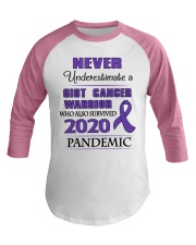gist-cancer-purple-npan Baseball Tee thumbnail