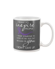 pancreatic-cancer-purple-inspire Mug thumbnail