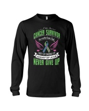 Never-give-up-Metastatic-Breast-Cancer Long Sleeve Tee thumbnail