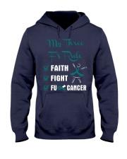 cervical-cancer-teal-white-3ru Hooded Sweatshirt thumbnail