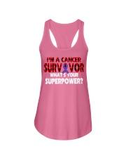 vulva-cancer-purple-surpp Ladies Flowy Tank thumbnail