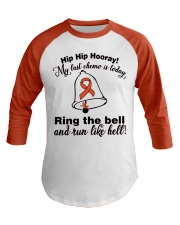 leukemia-orange-rtb Baseball Tee tile