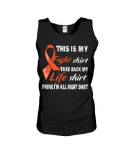 kidney-cancer-orange-fight-myshirt Unisex Tank thumbnail