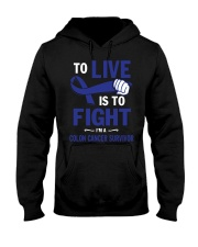 colon-cancer-darkblue-lfi Hooded Sweatshirt thumbnail