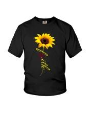 multiple-myeloma-burgundy-faithf Youth T-Shirt thumbnail