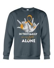 appendix-cancer-amber-fight-together Crewneck Sweatshirt thumbnail