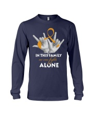 appendix-cancer-amber-fight-together Long Sleeve Tee thumbnail