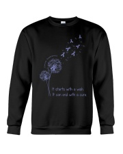 all-cancer-lavender-stwc Crewneck Sweatshirt thumbnail