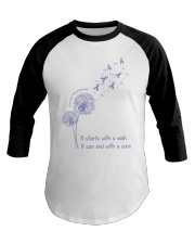 all-cancer-lavender-stwc Baseball Tee thumbnail