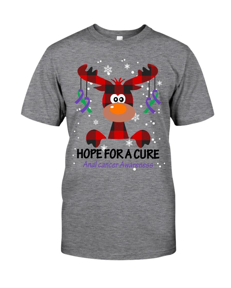anal-cancer-purple-green-hfac Classic T-Shirt