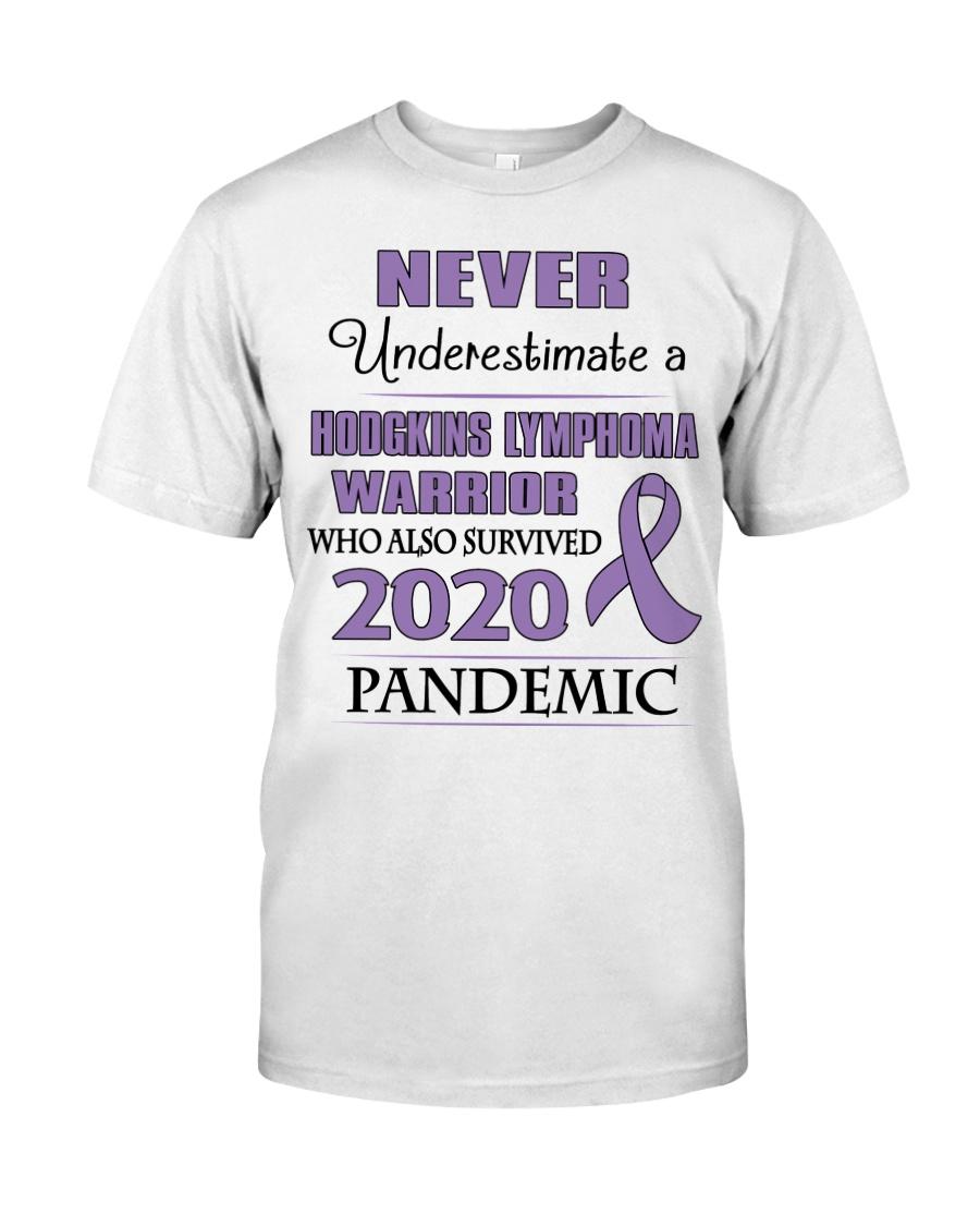 hodgkins-lymphoma-violet-npan Classic T-Shirt