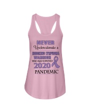 hodgkins-lymphoma-violet-npan Ladies Flowy Tank thumbnail