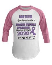 hodgkins-lymphoma-violet-npan Baseball Tee thumbnail