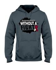 head-neck-cancer-burgundy-ivory-ngdf Hooded Sweatshirt thumbnail
