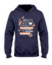 Endometrial-cancer-peach-STUCK Hooded Sweatshirt thumbnail