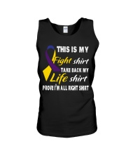 bladder-cancer-marigold-blue-purple-myshirt Unisex Tank thumbnail