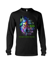 nonhodgkins-lymphoma-limegreen-strngttt Long Sleeve Tee tile