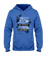 melanoma-cancer-black-STUCK Hooded Sweatshirt tile