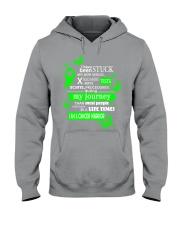 nonhodgkins-lymphoma-limegreen-stuck Hooded Sweatshirt thumbnail