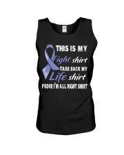 esophageal-cancer-periwinkle-myshirt Unisex Tank thumbnail