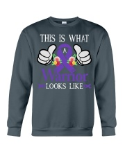 vulva-cancer-purple-tiwall Crewneck Sweatshirt thumbnail