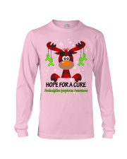 nonhodgkins-lymphoma-limegreen-hfac Long Sleeve Tee thumbnail
