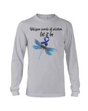 colon-cancer-darkblue-letitbe Long Sleeve Tee thumbnail