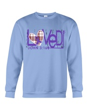 leiomyosarcoma-purple-loved Crewneck Sweatshirt thumbnail