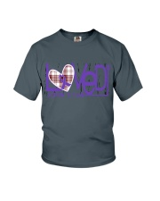 leiomyosarcoma-purple-loved Youth T-Shirt thumbnail
