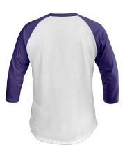 leiomyosarcoma-purple-loved Baseball Tee back