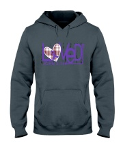 leiomyosarcoma-purple-loved Hooded Sweatshirt thumbnail