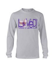 leiomyosarcoma-purple-loved Long Sleeve Tee thumbnail