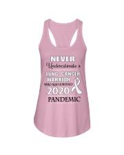 lung-cancer-white-npan Ladies Flowy Tank thumbnail