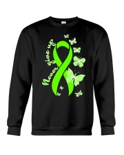 nonhodgkins-lymphoma-limegreen-never Crewneck Sweatshirt thumbnail