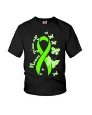 nonhodgkins-lymphoma-limegreen-never Youth T-Shirt thumbnail