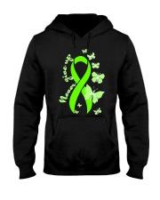 nonhodgkins-lymphoma-limegreen-never Hooded Sweatshirt thumbnail