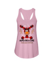 uterine-cancer-peach-hfac Ladies Flowy Tank thumbnail