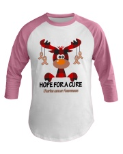 uterine-cancer-peach-hfac Baseball Tee thumbnail