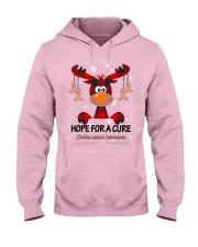 uterine-cancer-peach-hfac Hooded Sweatshirt thumbnail