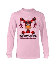 multiple-myeloma-burgundy-hfac Long Sleeve Tee thumbnail