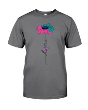 thyroid-cancer-teal-blue-pink-fhope Premium Fit Mens Tee thumbnail