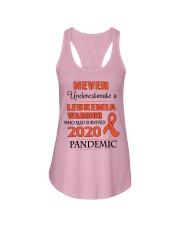leukemia-orange-npan Ladies Flowy Tank thumbnail