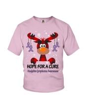 hodgkins-lymphoma-violet-hfac Youth T-Shirt thumbnail