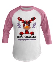 hodgkins-lymphoma-violet-hfac Baseball Tee thumbnail