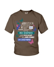thyroid-cancer-pink-teal-blue-STUCK Youth T-Shirt thumbnail