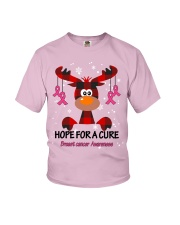 breast-cancer-pink-hfac Youth T-Shirt thumbnail