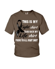 melanoma-black-myshirt Youth T-Shirt thumbnail