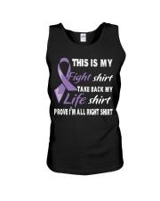hodgkins-lymphoma-violet-myshirt Unisex Tank thumbnail